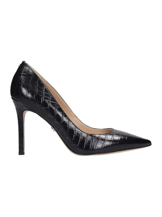 Sam Edelman Hazel Pumps In Black Leather