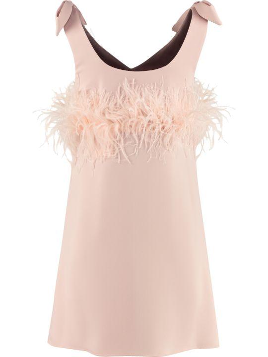 Parosh Feather Dress