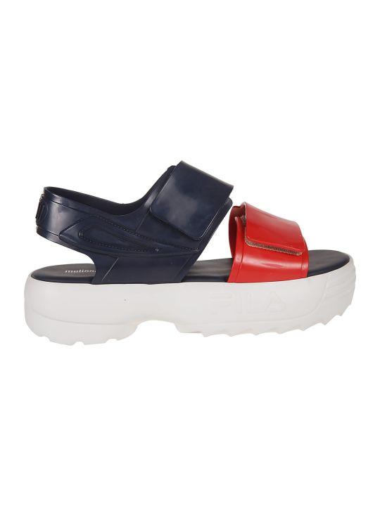 Melissa Melissa X Fila Classy Wedge Sandals
