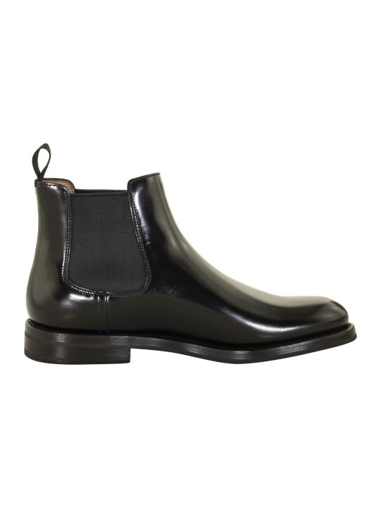Church's Monmouth Polished Binder Chelsea Boot Black