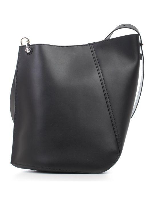 Lanvin Asimmetrical Becket Bag Medium Size