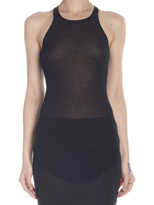 Rick Owens 'basic Rib Tank' Top