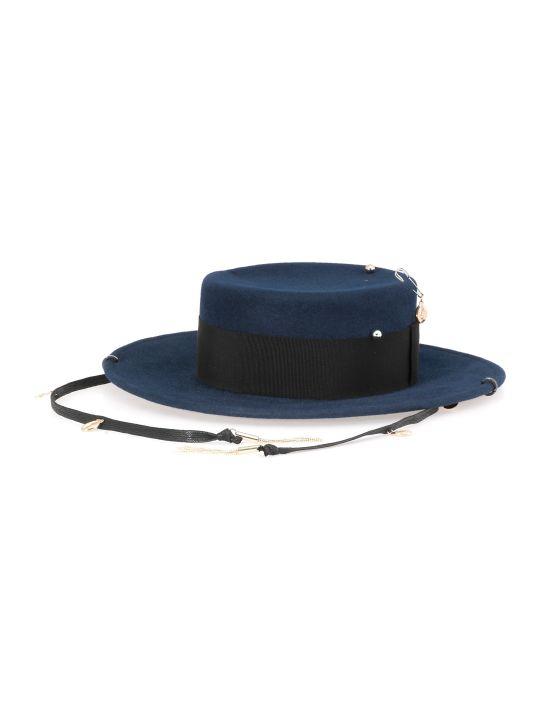 Ruslan Baginskiy Piercing Boater Hat