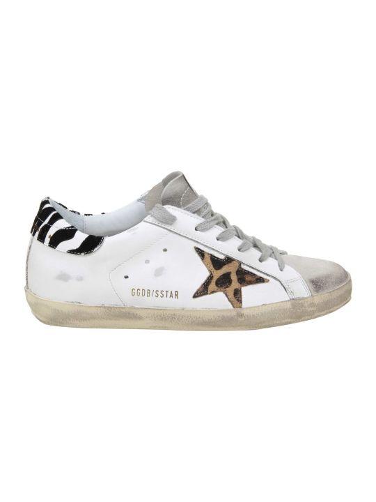 Golden Goose Superstar Leather Sneakers