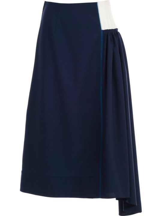 Marni Gathered Skirt
