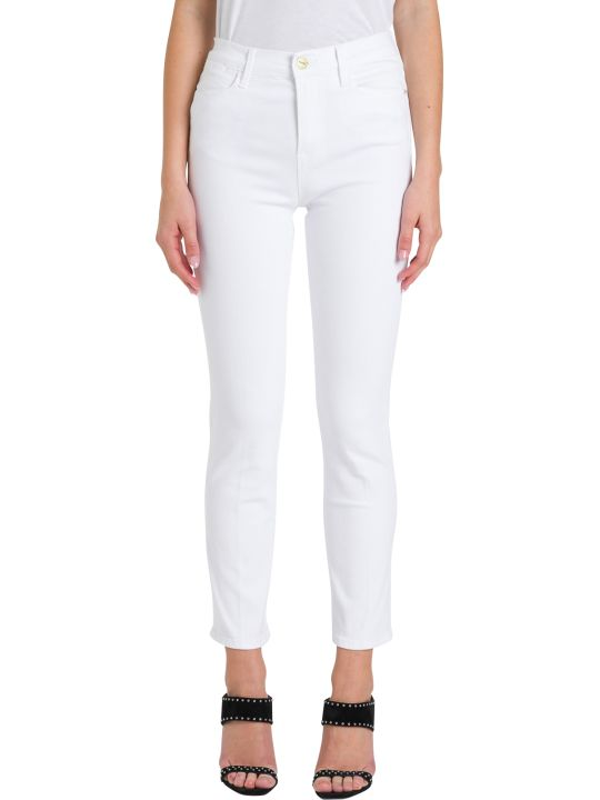 Frame Skinny Cropped Jeans