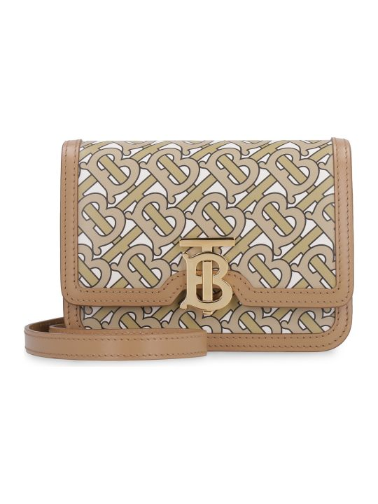 Burberry Tb Mini Leather Crossbody Bag