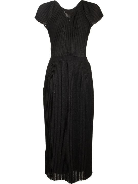 Elisabetta Franchi Celyn B. Knee-length Pleated Dress
