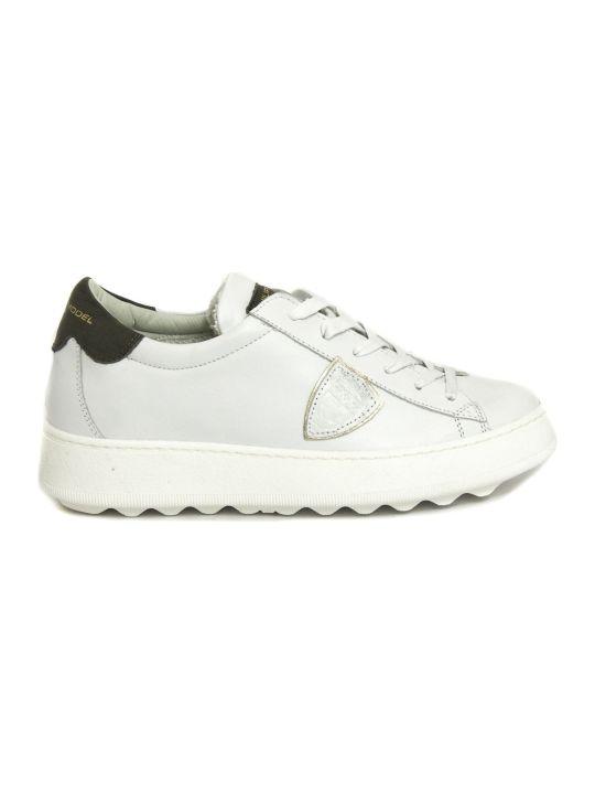 Philippe Model White Leather Madeleine Sneaker
