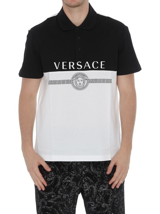Versace Polo With Logo