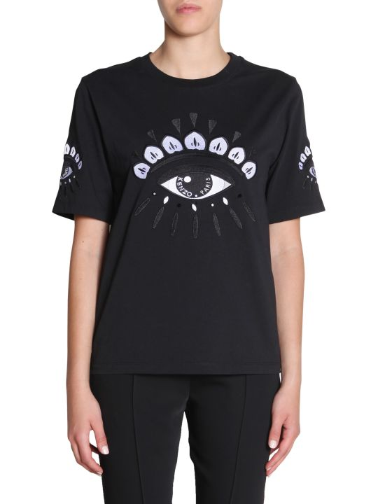 Kenzo Eye Embroidered T-shirt