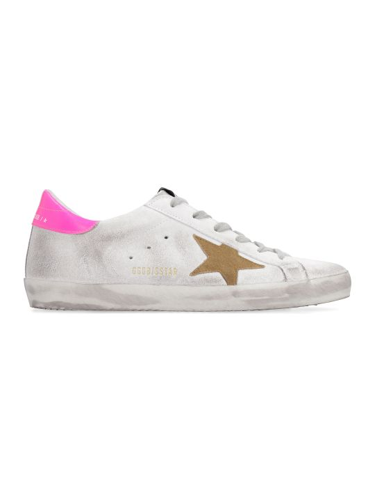 Golden Goose Superstar Multicolor Suede Sneakers