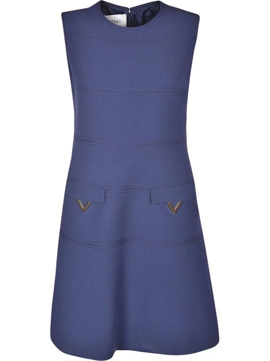 Valentino V Hardware Shift Dress