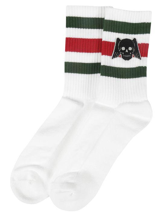 Gucci Winged Skull Socks