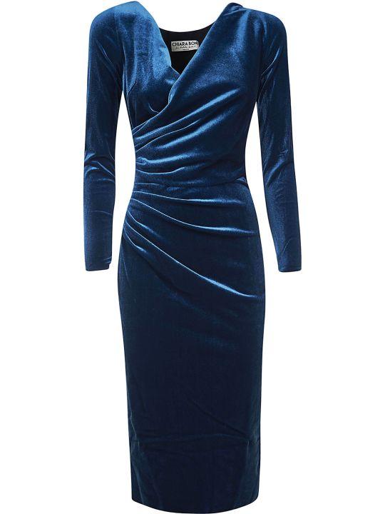 La Petit Robe Di Chiara Boni Marquita Velvet Dress