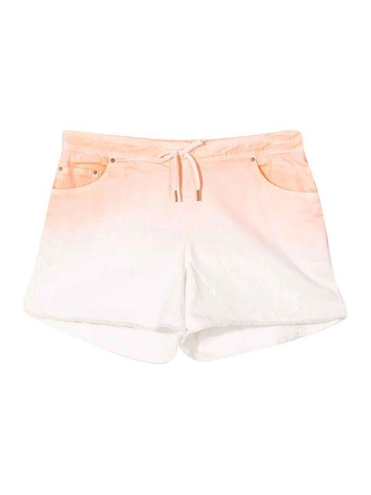Chloé White Chloé Kids Shorts