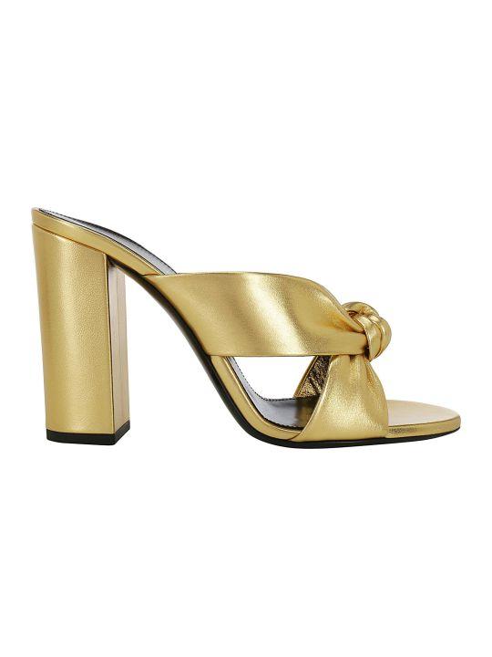Saint Laurent Loulou Sandals