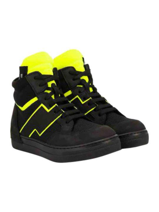 Araia Kids High Color Block Sneakers