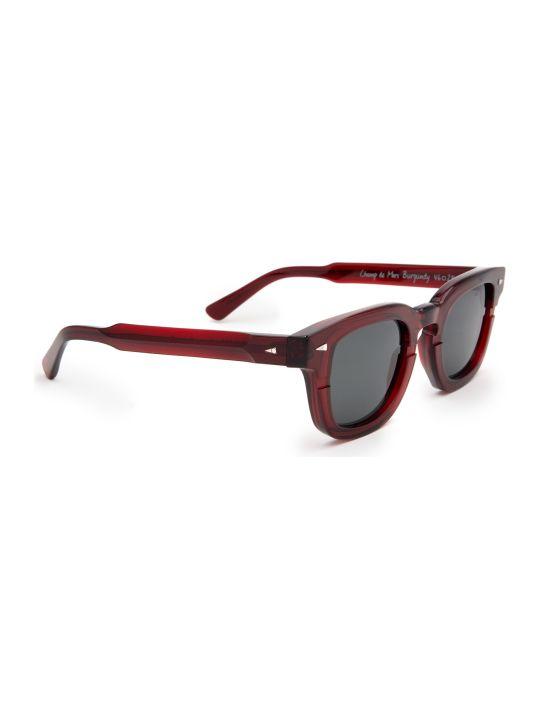 AHLEM Ahlem Champ De Mars Burgundy Sunglasses