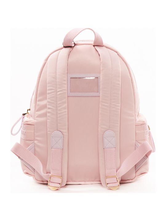 Dolce & Gabbana Tropical Rose Nylon Backpack
