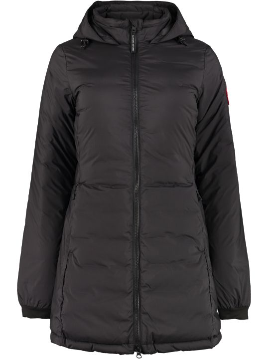 Canada Goose Camp Full Zip Padded Hooded Jacket