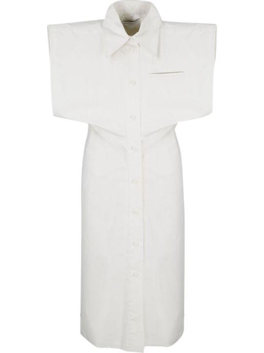 Bottega Veneta Technical Coated Toile Dress