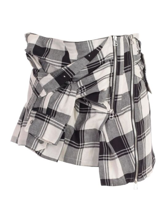 Faith Connexion Checked Skirt