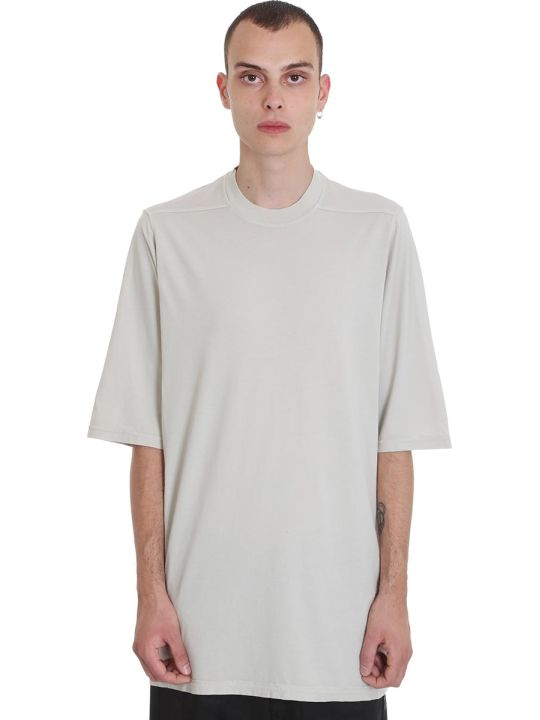 DRKSHDW Jumbo Tee T-shirt In Beige Cotton