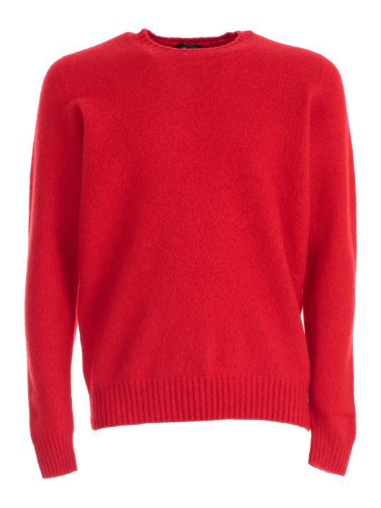 Drumohr Sweater Crew Neck Wool