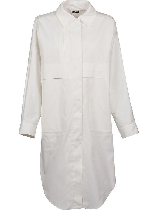 Jil Sander Navy Oversized Shirt Jacket