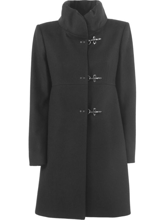 Fay Black Virgin Wool-cashmere Jacket