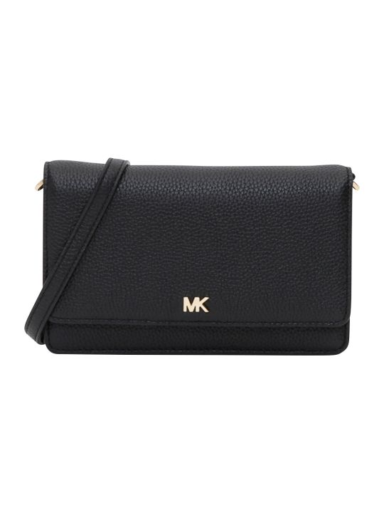 MICHAEL Michael Kors Mott Phone Crossbody Small Grain Pebble Leather 18k