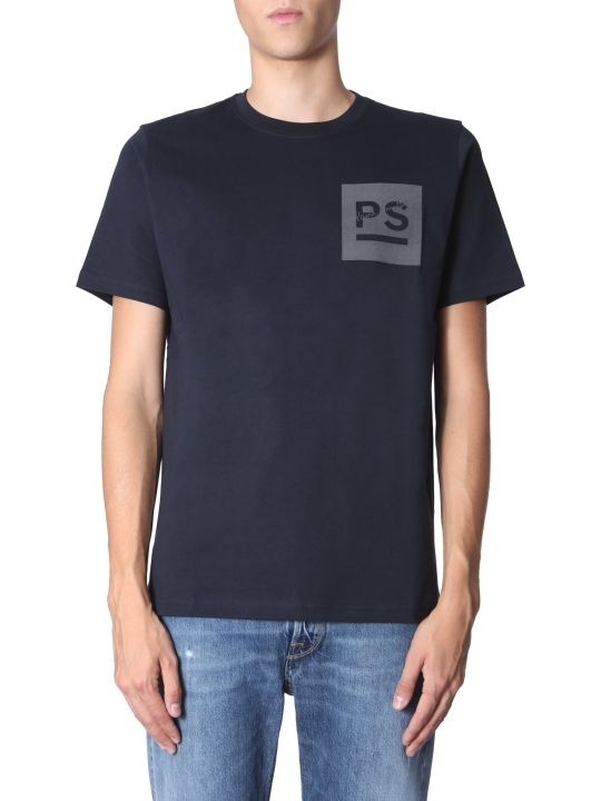 PS by Paul Smith PS by Paul Smith Crew Neck Sweater - NERO