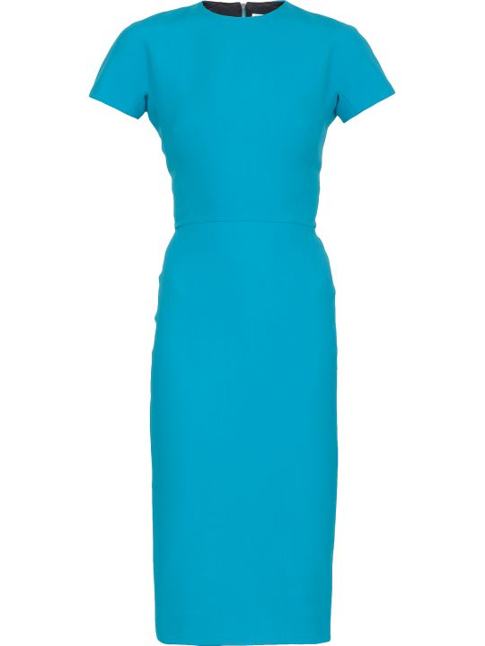 Victoria Beckham Plain Color Sheath Dress