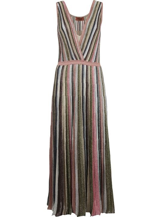 Missoni Pleated Knit Dress