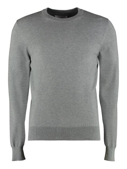Maison Margiela Long-sleeved Crew-neck Sweater
