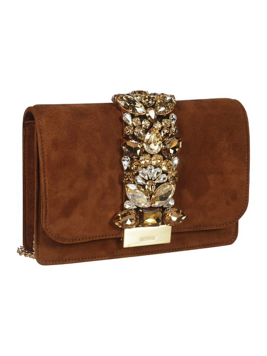 Gedebe Crystal Embellished Shoulder Bag