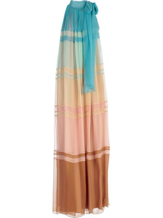 Alberta Ferretti Color-block Dress