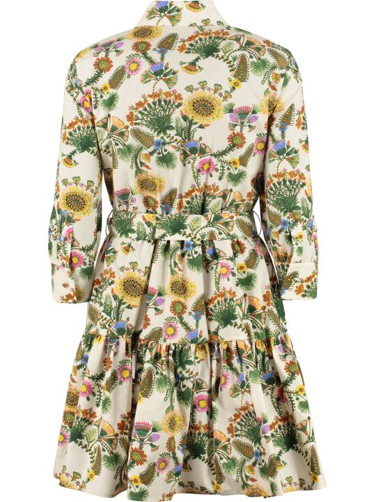 La DoubleJ Short Bellini Cotton Shirt Dress