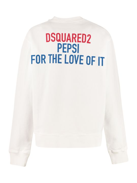 Dsquared2 Dsquared2 X Pepsi Cotton Sweatshirt