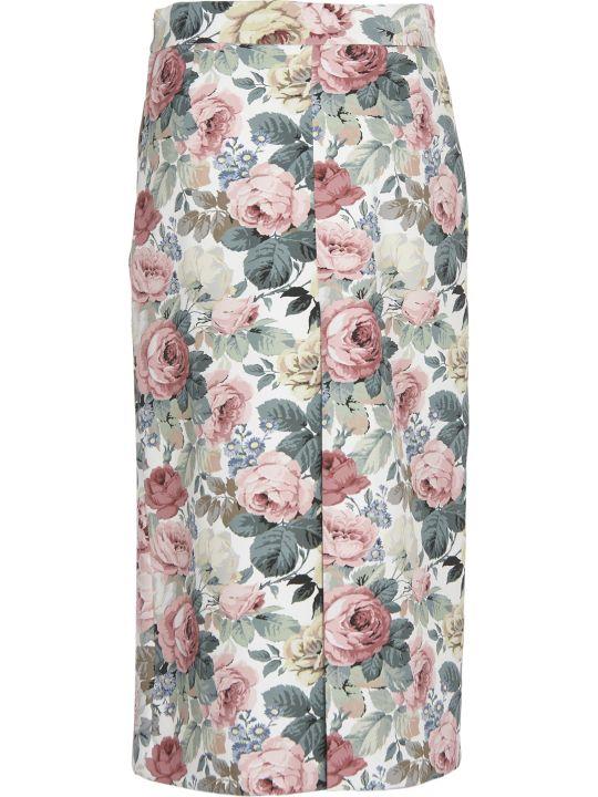 Vivetta Floral Pattern Skirt