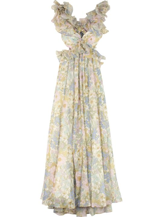 Zimmermann Super Eight Printed Maxi Dress