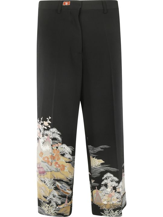 Ibrigu Bottom Printed Detail Trousers