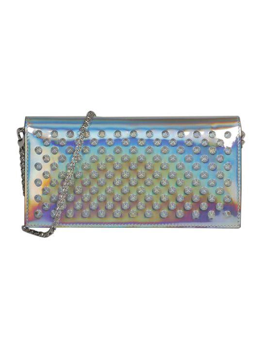 Christian Louboutin Embellished Studs Shoulder Bag