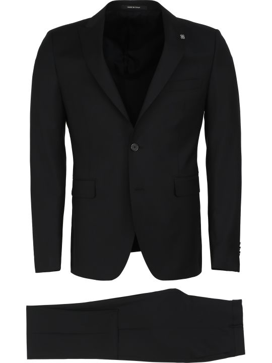 Tagliatore Virgin Wool Two Piece Suit
