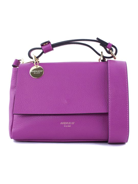 Avenue 67 Fuchsia Elettra Xs Shoulder Bag