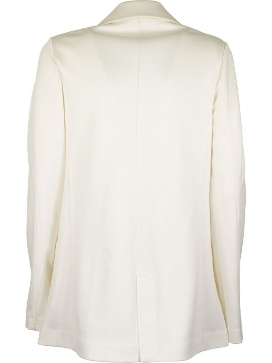Fay Double Breasted Jacket White