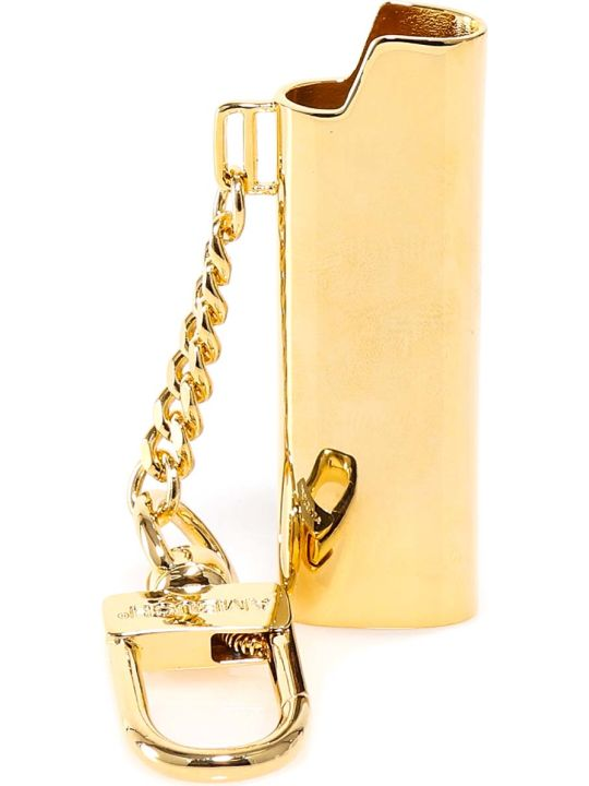 AMBUSH Logo Lighter Case Key Chain Keyrings