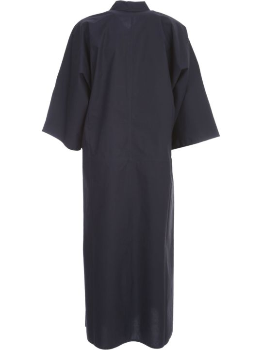 Sofie d'Hoore Midi Dress W/shirt Collar