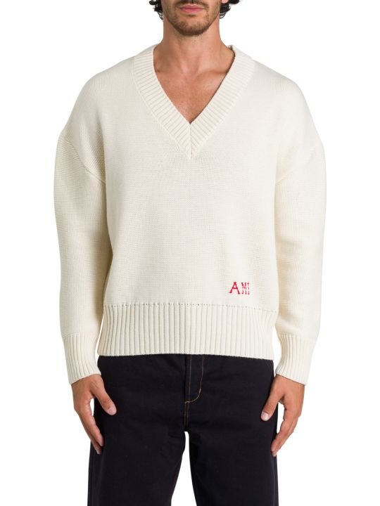 Ami Alexandre Mattiussi V Neckline Sweater